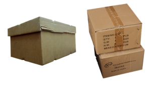 Moving Supplies - cardboard boxes