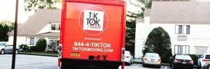 tik tok moving truck