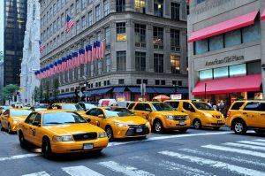 taxi vehicles in NYC